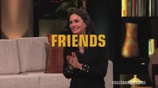 Bonus Round:  FRIENDS with Courteney Cox & Lisa Kudrow | Celebrity Name Game