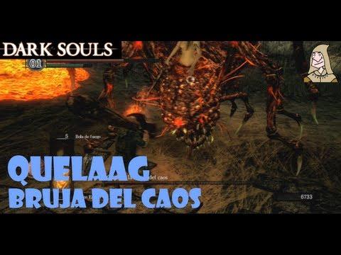 Dark Souls guia: QUELAAG, LA BRUJA DEL CAOS - Trucos para matar este boss || EP 13.1