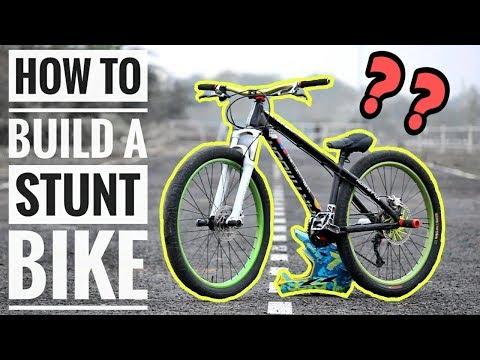 How to build a STUNT BIKE ? | Infinity Riderzz Kolkata | MTB Stunts 2018