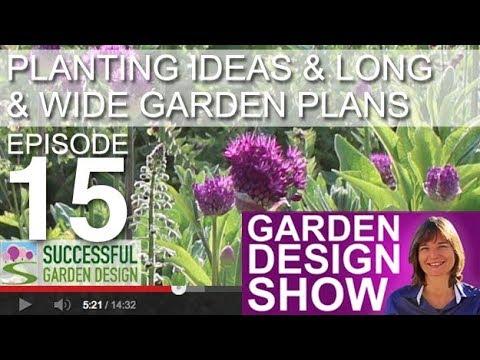 Garden Design Show 15 Planting Ideas Long Wide Garden Design