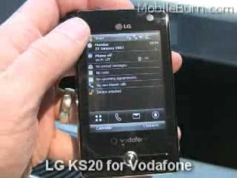 youtube lg ks20