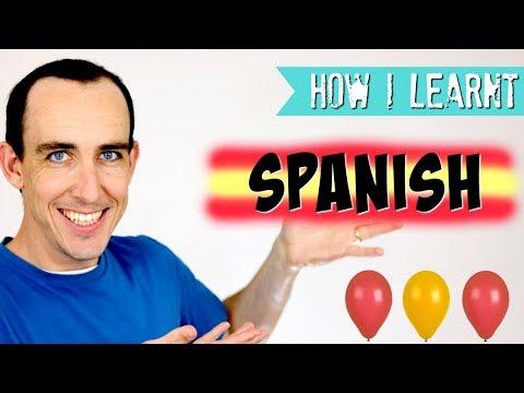 Chico inglés hablando español: How I Learnt Spanish 🇪🇸