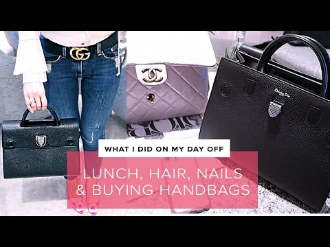 JOIN ME ON MY DAY OFF 😆 / DIOREVER + Dior SS17 Collection | Harrods Shopping Vlog | Sophie Shohet