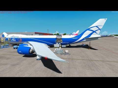 [PREPAR3D 4.5] Flight Boeing 747-8F Air Bridge Cargo -  UUEE (Sheremetyevo) - EPKT (Katowice)