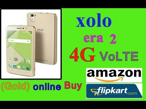 Xolo Era 2 4G With VoLTE (Gold) buy online amazon  process ( FULL  HD )