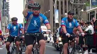 Wounded Warriors Soldier Ride kicks off