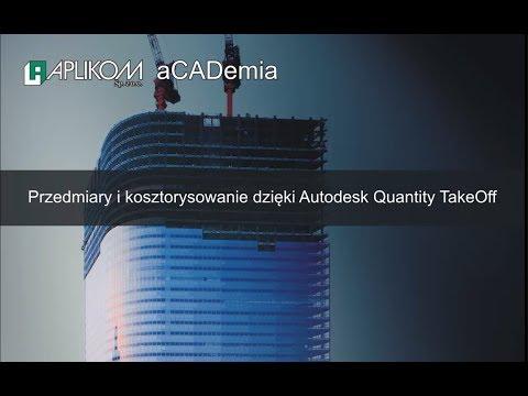 Autodesk Quantity Takeoff = przedmiary i kosztorysowanie