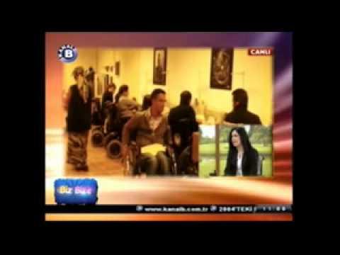 Kanal B - Biz bize Programı 'Uluslararası Omurilik Felçlileri Derneği' Tanıtımı 29 Kasım 2013