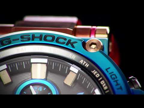 A special limited-edition G-SHOCK MTG-B1000VL ''Metal-Twisted G-SHOCK''