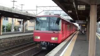 【FHD】名鉄6800系重連回送電車 扶桑通過