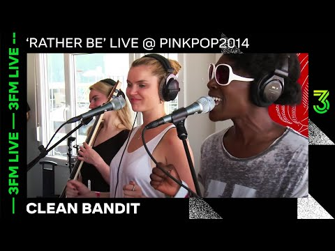 Clean Bandit - 'Rather Be' live @ pinkpop 2014 | 3FM Live | NPO 3FM