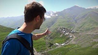 Уникальное место на планете - Хыналы, Азербайджан
