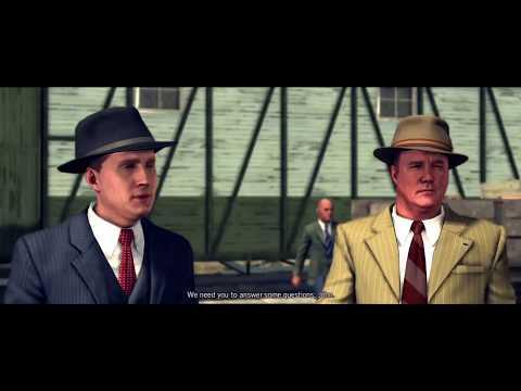 "L.A NOIRE remastered gameplay. Homicide case ""The Studio Secretary Murder"""