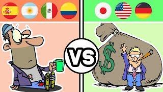 TERCER Mundo vs PRIMER Mundo
