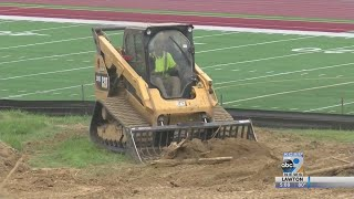 Morningside College starts new construction on sports facilities