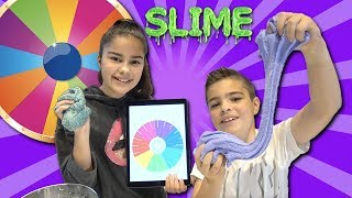 Mystery Slime Wheel Challenge | Grace