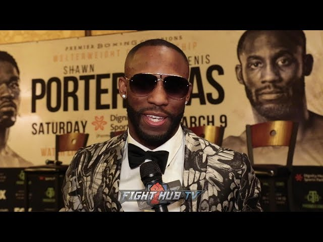 YORDENIS UGAS GONNA BE AN EXPLOSIVE, TOUGH FIGHT WITH PORTER! ITS BEEN A TOUGH JOURNEY TO GET HERE