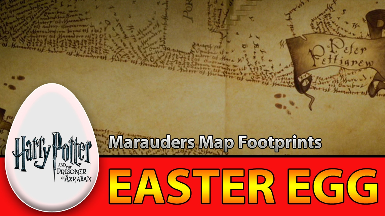 Harry Potter and the Prisoner of Azkaban    Marauders Map