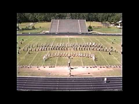 Orangefield High School Band 1996 - UIL Region 10 Marching Contest