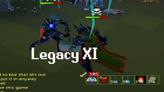 [RuneScape 3/Legacy] Legacy XI - Highrisk legacy Mage PKing/Riskfighting - 400M+ Loot