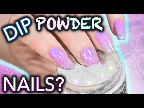 Thumbnail: DIY Dip Powder Nails (do not snort)