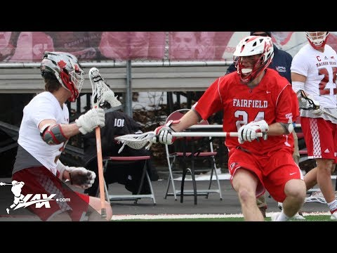 Fairfield vs Sacred Heart | 2019 College Highlights