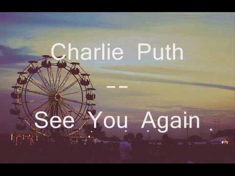 See You Again (Piano Demo Version) - Charlie Puth - Cifra Club