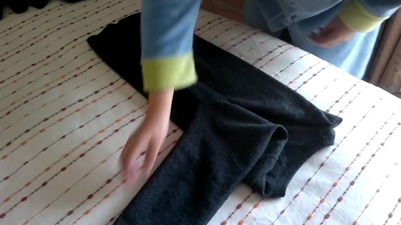 Resultado de imagen de como doblar un jersey