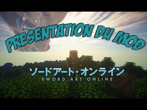 [Minecraft FR] Présentation du mod Sword art Online [1.7.10]