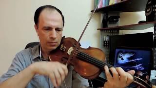 زمان الصمت Violin Cover Anwar Hariri