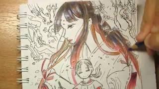 Draw Ebisu from Noragami