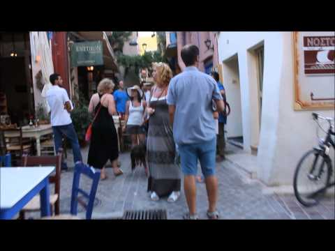 chania street walk
