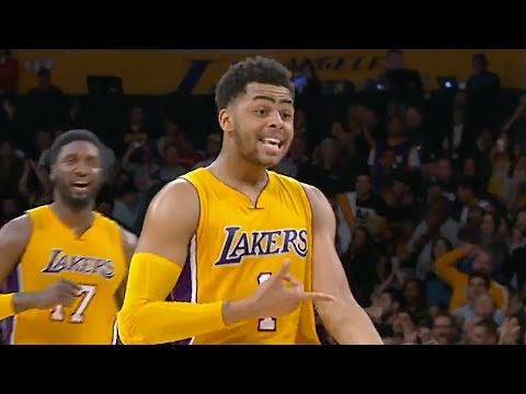 D'Angelo Russell Says He Has Ice In His Veins After Drilling Late 3 Pointer