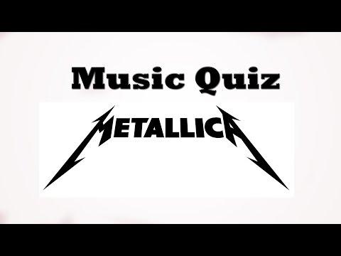 Music Quiz - Metallica