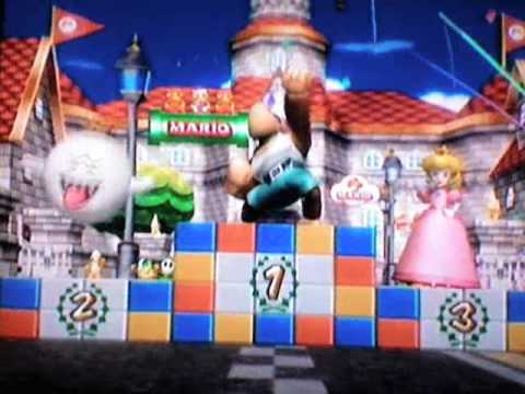 Mario Kart Wii Dry Bowser Jr
