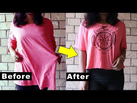 2aa4e5595 DIY MANDALA T-shirt   DIY Tshirt painting ideas for beginners   Boho Crop  Top - YouTube