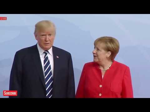 WATCH: President Donald Trump and Vladimir Putin Arrives at G20 Summit Meeting, in Hamburg, Germany