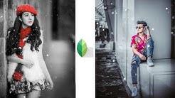 Snapseed Best Color Splash Editing Tricks | Best Color Effect Android App | Snapseed Photo Editing
