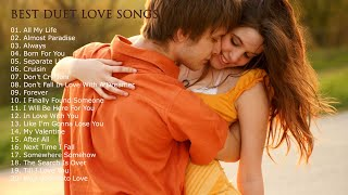 BEST MALE & FEMALE DUET LOVE SONGS - GREATEST HITS PLAYLIST 70s 80s 90s