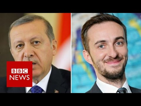 Merkel allows inquiry into comic's Erdogan insult - BBC News
