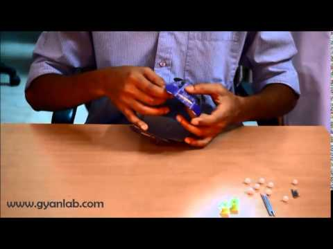 Papercraft Build a 3D Satellite Model - Paper (Aryabhatta) | Science | GyanLab