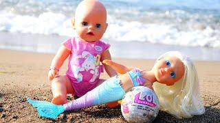 Фото Сюрприз Лол от Беби Бон Русалочки. Игры в куклы КАК МАМА. Видео для девочек