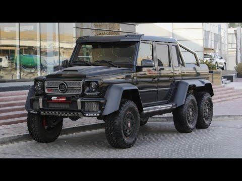 Mercedes Benz G 63 AMG 6x6 BRABUS тест драйв, обзор военного внедорожника в City Car Driving АРХИВ