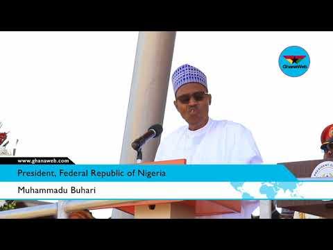 Muhammadu Buhari's full speech at Ghana's 61st Independence celebration