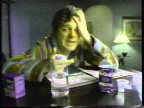 Nathan Lane 1990 Nyquil commercial