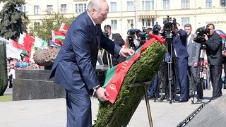 Александр Лукашенко принял участие в торжественных мероприятиях ко Дню Победы