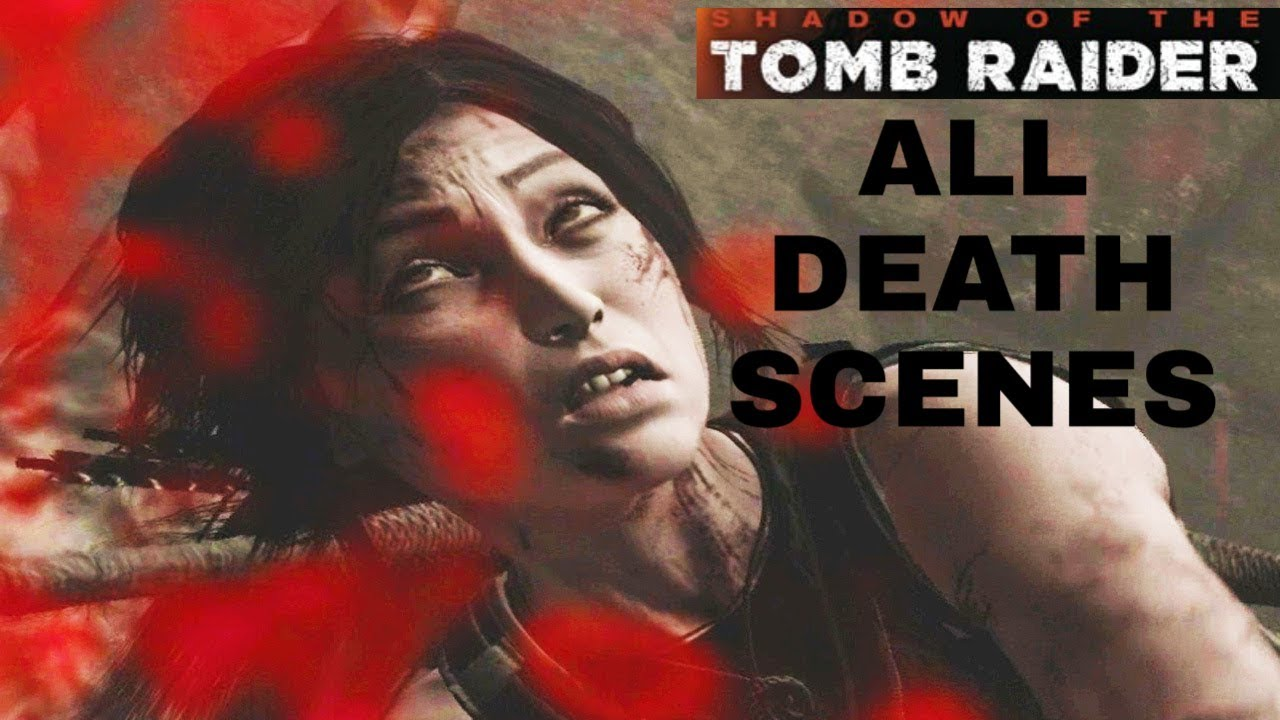 Rise of the Tomb Raider - All Death Scenes Compilation And
