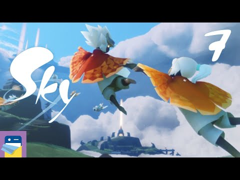 Sky: Children of the Light - iOS Gameplay Walkthrough Part 7 - Collecting Spirits (thatgamecompany)