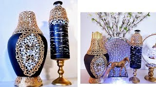 Diy Home Accent Decor 2019| Quick And Easy Decorative Vases.