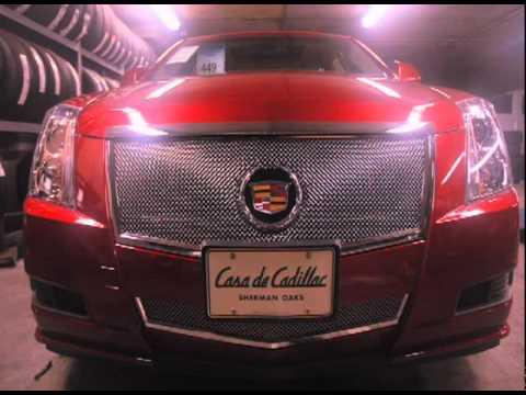 Casa de Cadillac - Custom CTS Grill Installation - Sherman Oaks, CA